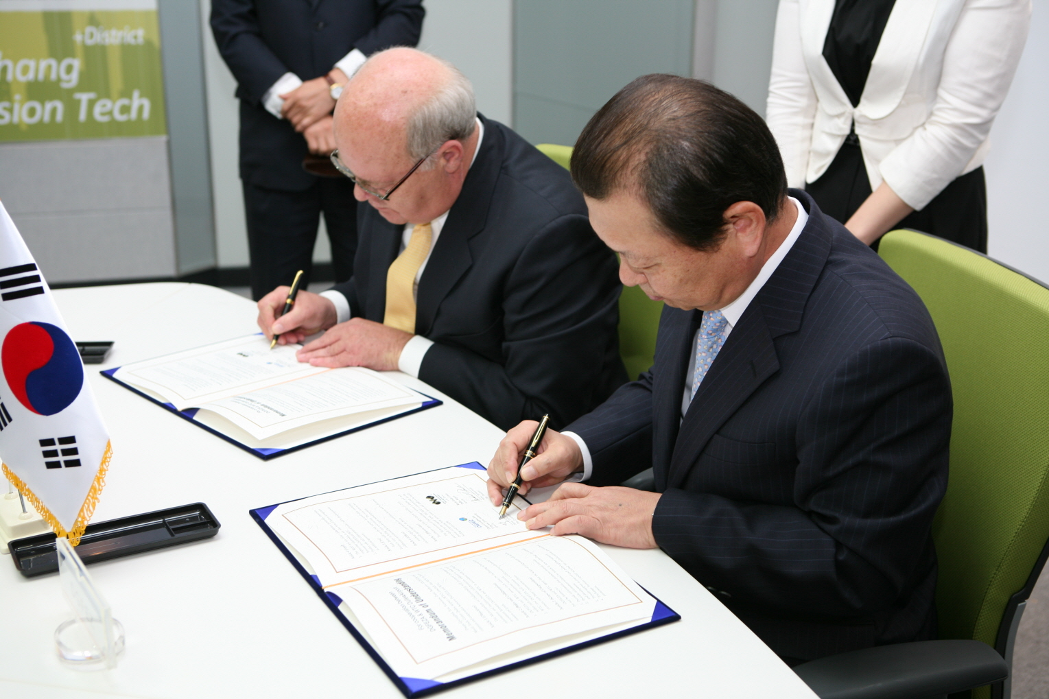 MOU Signing with WTC Dulles Ai...